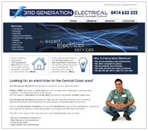 Electrician websites from $495. Artitude web design